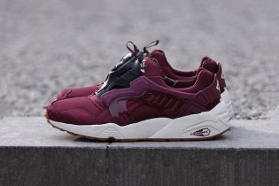 "PUMA Trinomic Disc Blaze ""Burgundy"""