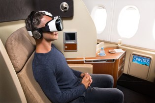Qantas and Samsung to Offer Virtual Reality Experience
