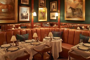 Ralph Lauren Introduces His First NYC Restaurant: The Polo Bar