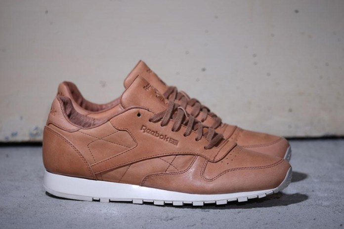 """Reebok Classic Leather Lux Horween """"Natural/Moon White"""""""