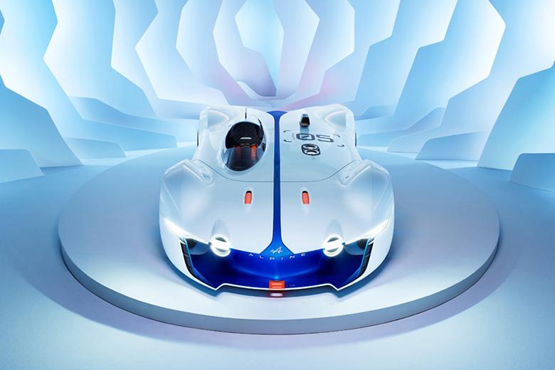 Renault's Alpine Vision GT Concept for Gran Turismo