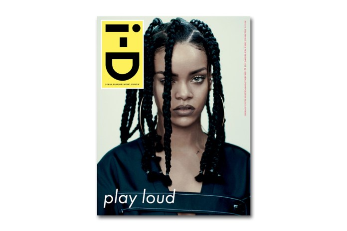 Rihanna Covers i-D Magazine's 2015 Spring Music Issue