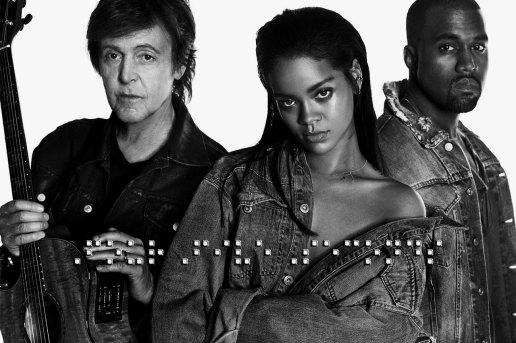Rihanna featuring Kanye West & Paul McCartney - FourFiveSeconds