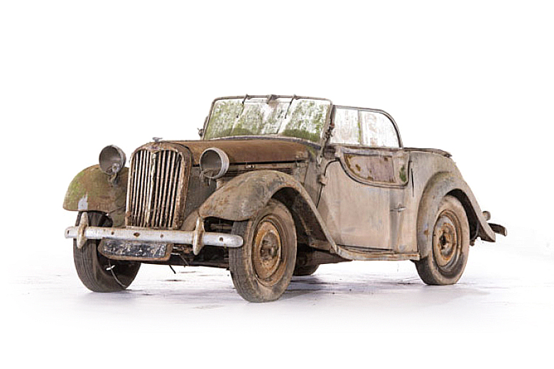 Roger Baillon Collection of Cars Found in Barn Now Up for Auction