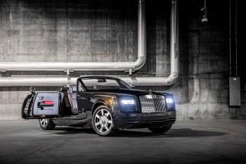Rolls-Royce Debuts the Phantom Drophead Coupé 'Nighthawk' Bespoke in America