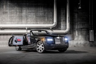 Rolls-Royce Debuts the Phantom Drophead Coupé 'Nighthawk' Bespoke in America