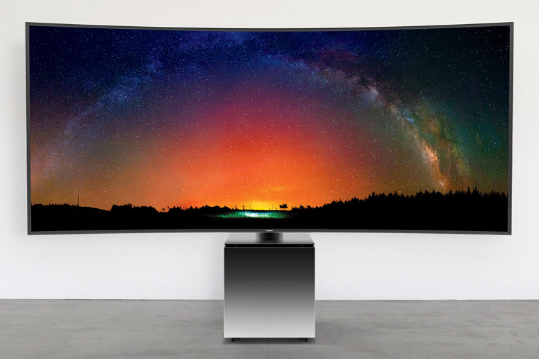 Samsung Joins Forces with Yves Behar to Design the SW9 Ultra-HD TV