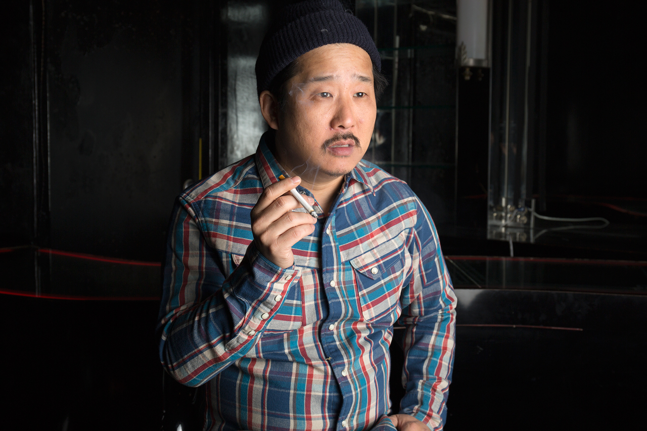 """Self Edge 2015 Winter """"Between The Lines"""" Lookbook featuring Comedians Bobby Lee, Nick Youssef, Kevin Christy & Dean Delray"""