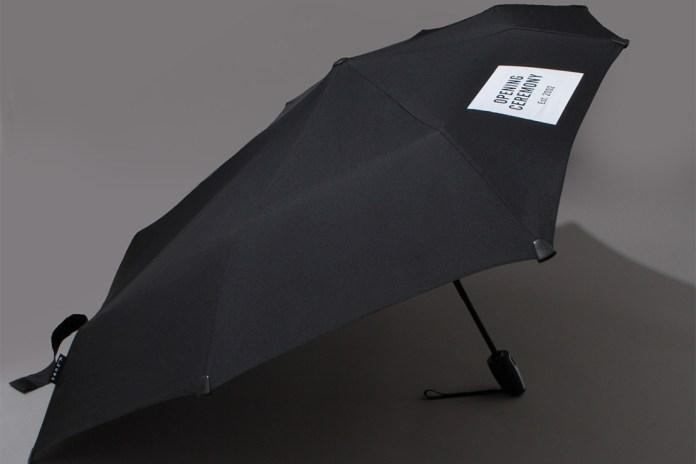 senz for Opening Ceremony OC Logo Automatic Umbrella