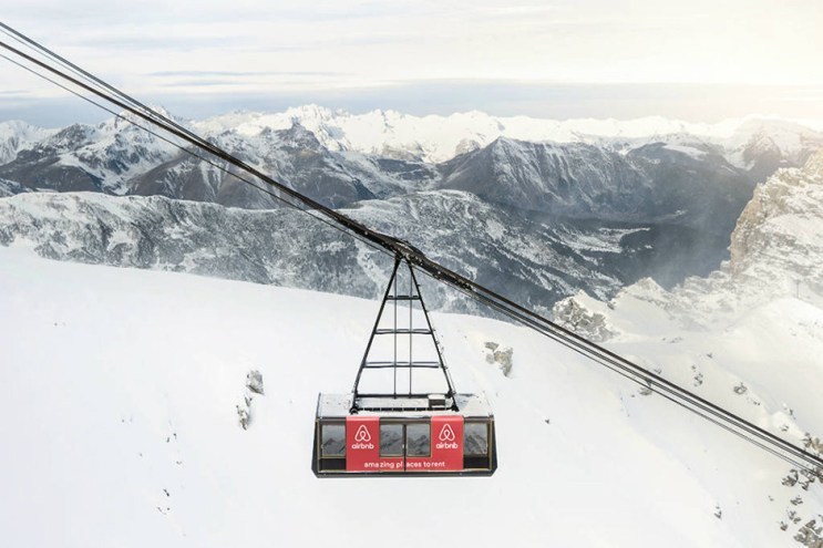 Stay in Airbnb's Cable Car 9,000ft Above the French Alps