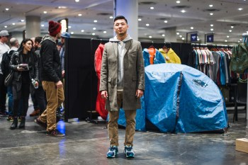 Streetsnaps: Paul Lee of UBIQ at AGENDA New York