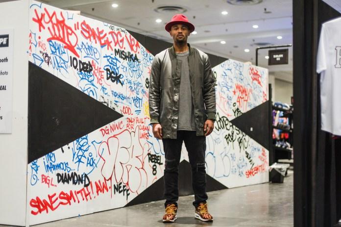 Streetsnaps: Reginald Elliott at Agenda New York