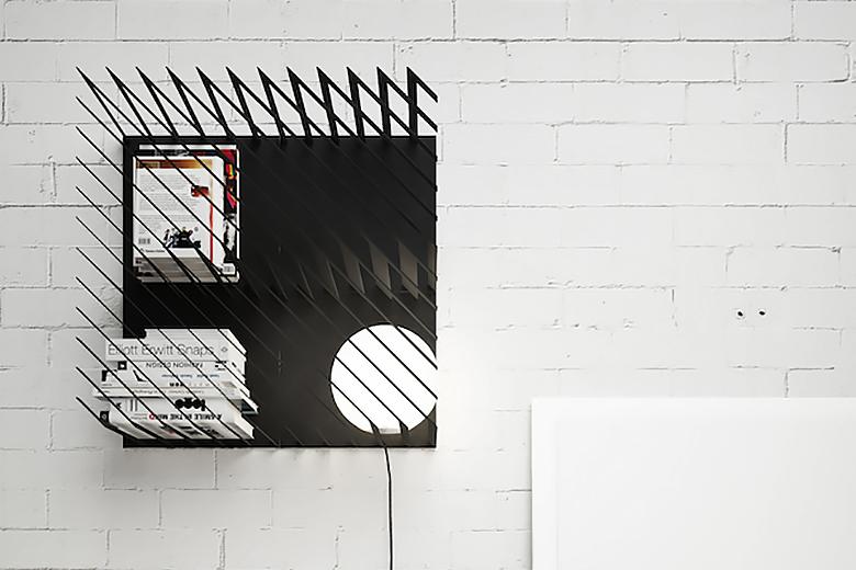 Hash Striped Bookshelf by Line Studio