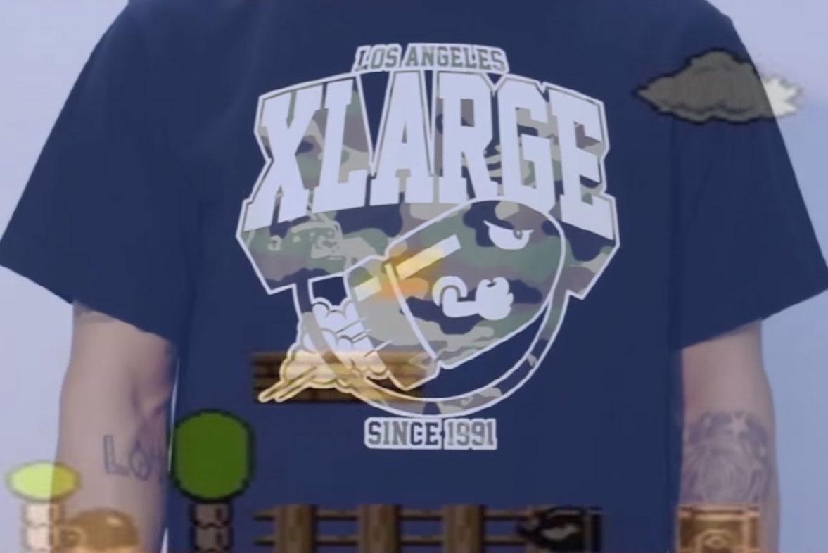 Super Mario Bros. x XLARGE 2015 Video Lookbook