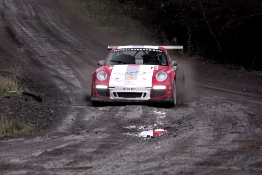 Take a Ride with Chris Harris and the WRC-ready Porsche 911 RGT