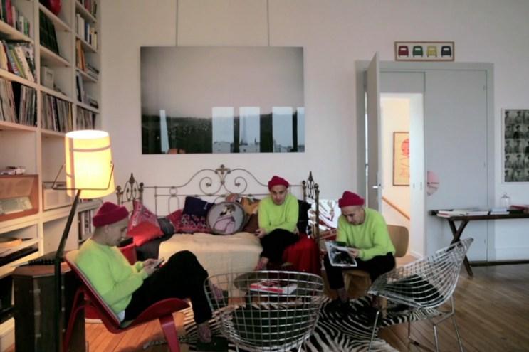 Take a Tour of Creative Ramdane Touhami's Paris Townhouse