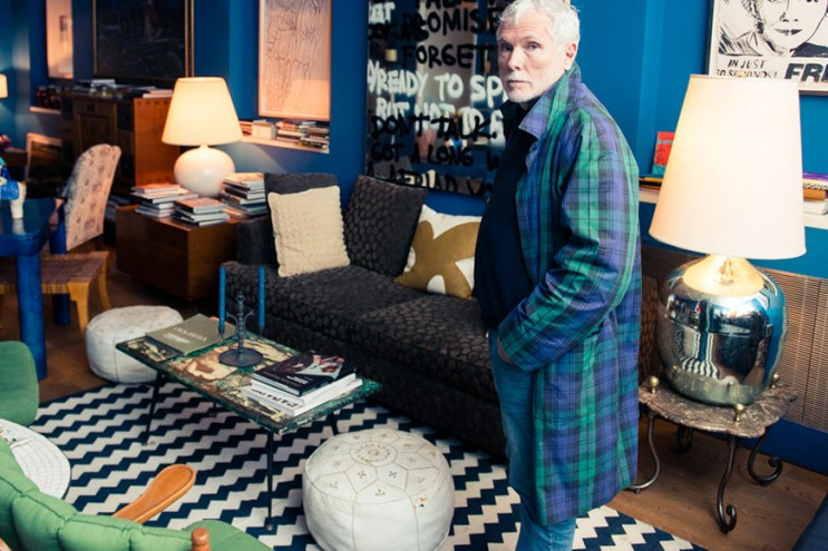 The Coveteur Takes Us Inside Glenn O'Brien's Home