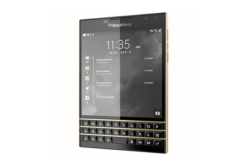 """BlackBerry Passport """"Black and Gold"""" Limited Edition"""