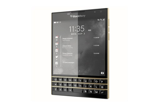 "BlackBerry Passport ""Black and Gold"" Limited Edition"
