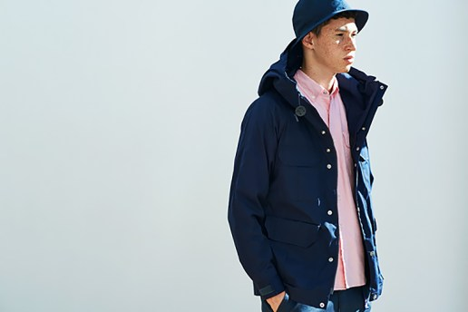THE NORTH FACE PURPLE LABEL 2015 Spring Lookbook