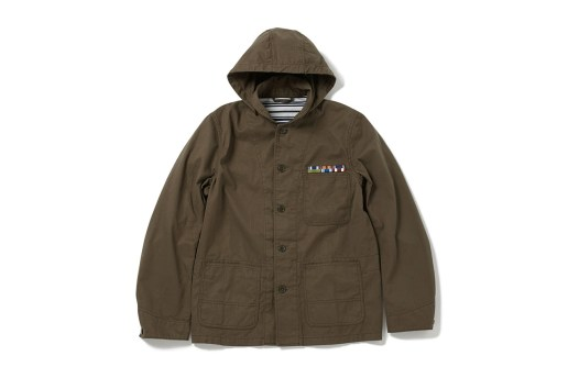 the POOL aoyama Military Cover-All Jacket