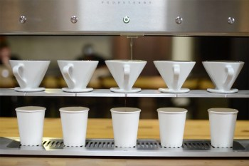 The Poursteady Automated Pour-Over Coffee Machine Brings Better Tasting Coffee to Customers