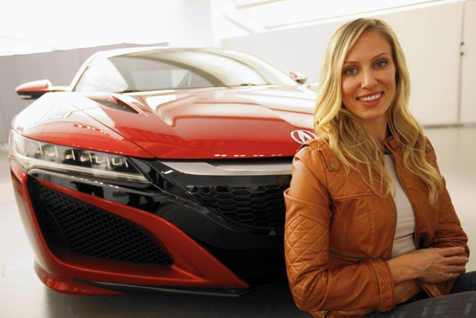 The Woman Behind the New Acura NSX Design