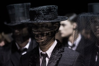 HYPEBEAST Goes Backstage at Thom Browne 2015 Fall/Winter Show