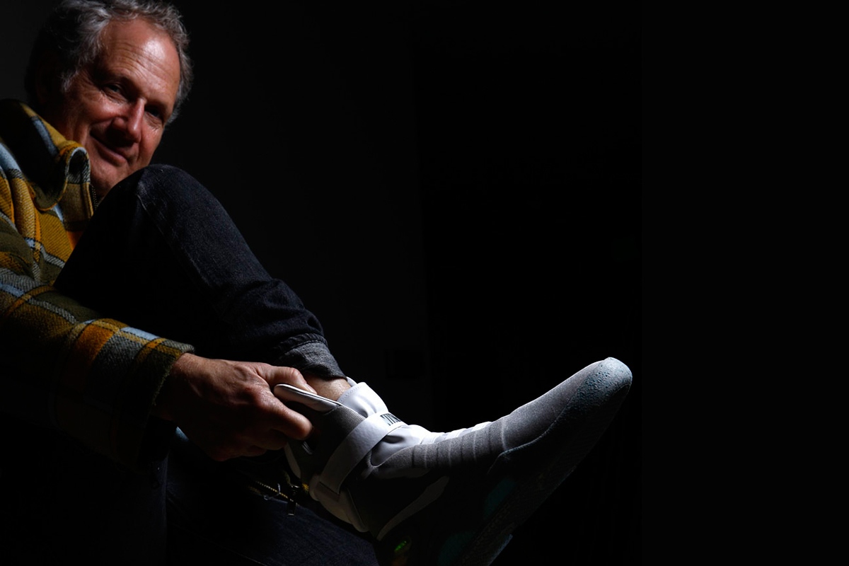 Tinker Hatfield Talks About the 2015 Nike MAG Release and Power Laces at #AgendaEmerge