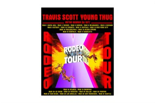 Travi$ Scott Announces Tour with Young Thug and Releases Two Songs featuring Future, PND & Young Thug
