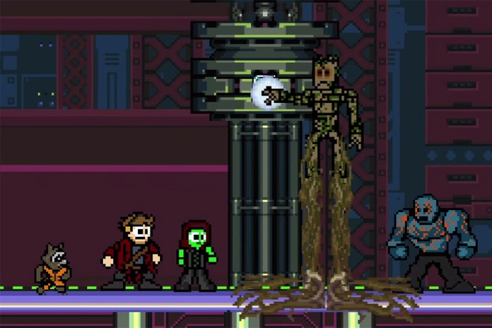 Watch an 8-Bit Version of 'Guardians of the Galaxy'