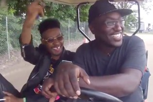 Watch Danny Brown Ride Around Bonnaroo with Hannibal Buress