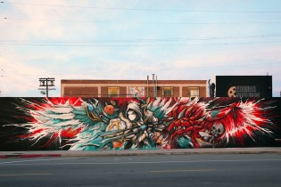 Watch Meggs Paint a Massive Mural Inspired by Summoners War