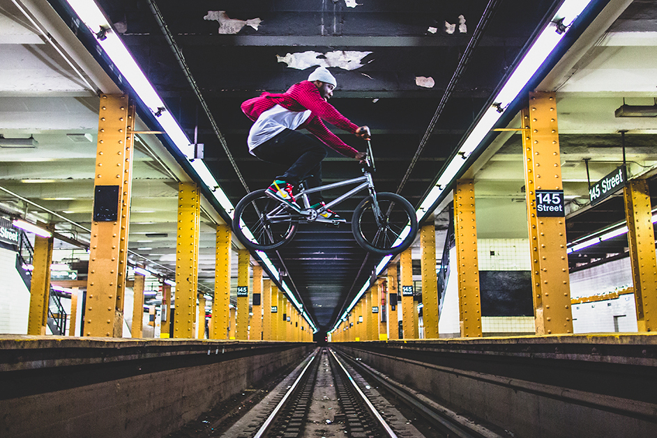VICE Sports Meets: Nigel Sylvester Taking on BMX - Part 2
