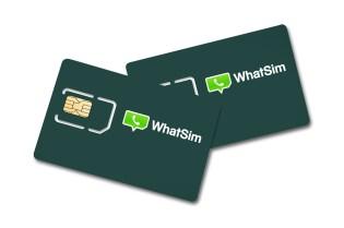 WhatSim SIM Card for Overseas WhatsApp Use