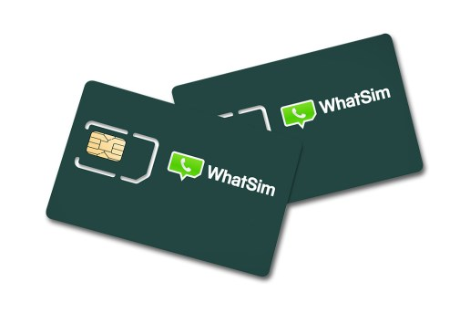 WhatSim SIM Card for Overseas WhatsApp Use