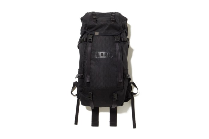 White Mountaineering x Porter 2015 Spring/Summer Polyester PVC Big Backpack