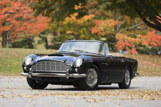 1965 Aston Martin DB5 Convertible Sells for Record $2 Million USD