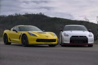 2015 Corvette Z06 and 2015 Nissan GT-R NISMO Go Head-to-Head