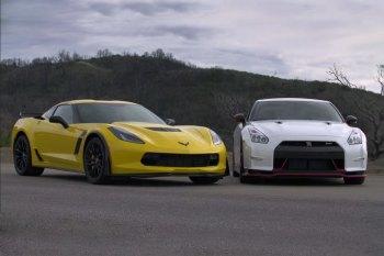 2015 Corvette Z06 and 2015 Nissan GT-R NISMO Go Head-to-Head