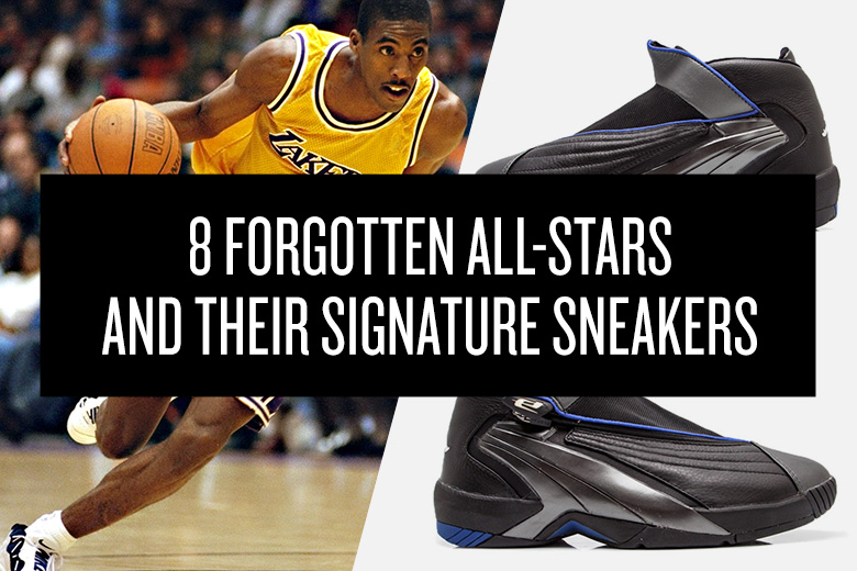 8 Forgotten All-Stars and Their Signature Sneakers