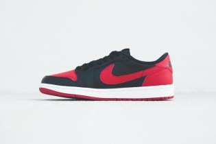 A Closer Look at the Air Jordan 1 Retro Low OG Black/Varsity Red-Sail