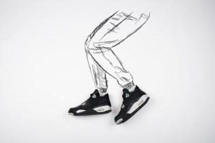 A Closer Look at the Air Jordan 4 Retro Black/Tech Grey