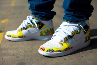 A Closer Look at the De La Soul x Nike SB Dunk High