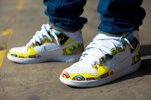 A Closer Look at the De La Soul x Nike SB Dunk High