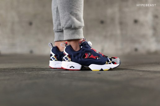 "A Closer Look at the INVINCIBLE x Reebok 2015 Instapump Fury OG ""Grand Manege"""