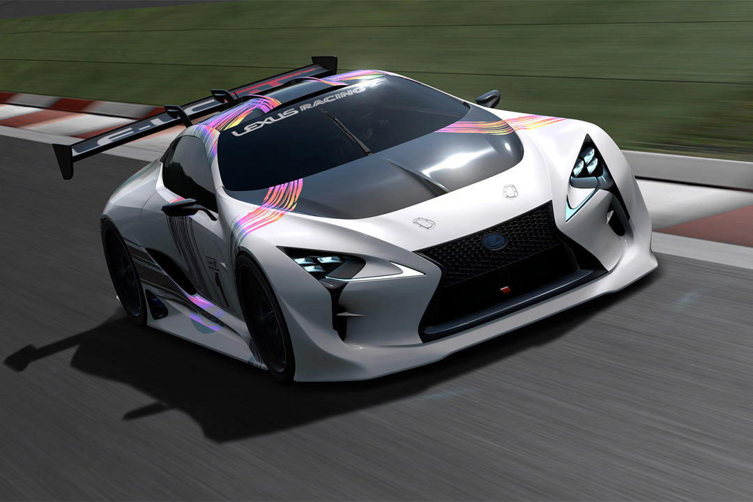 A Closer Look at the Lexus LF-LC GT Vision Gran Turismo