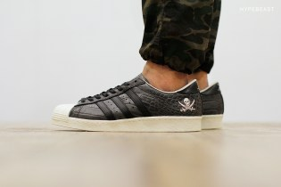 A Closer Look at the NEIGHBORHOOD x adidas Consortium Superstar