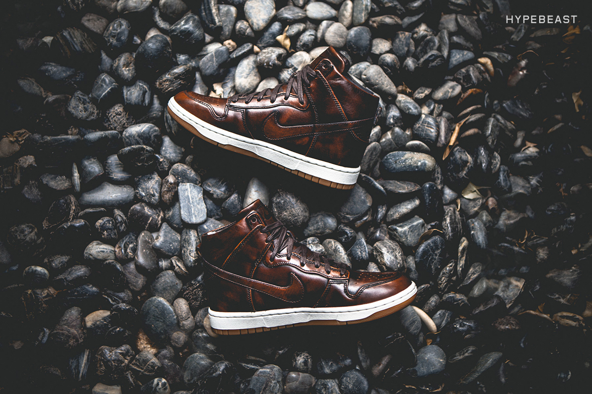 """A Closer Look at the Nike Dunk Lux High SP """"Burnished Leather"""""""