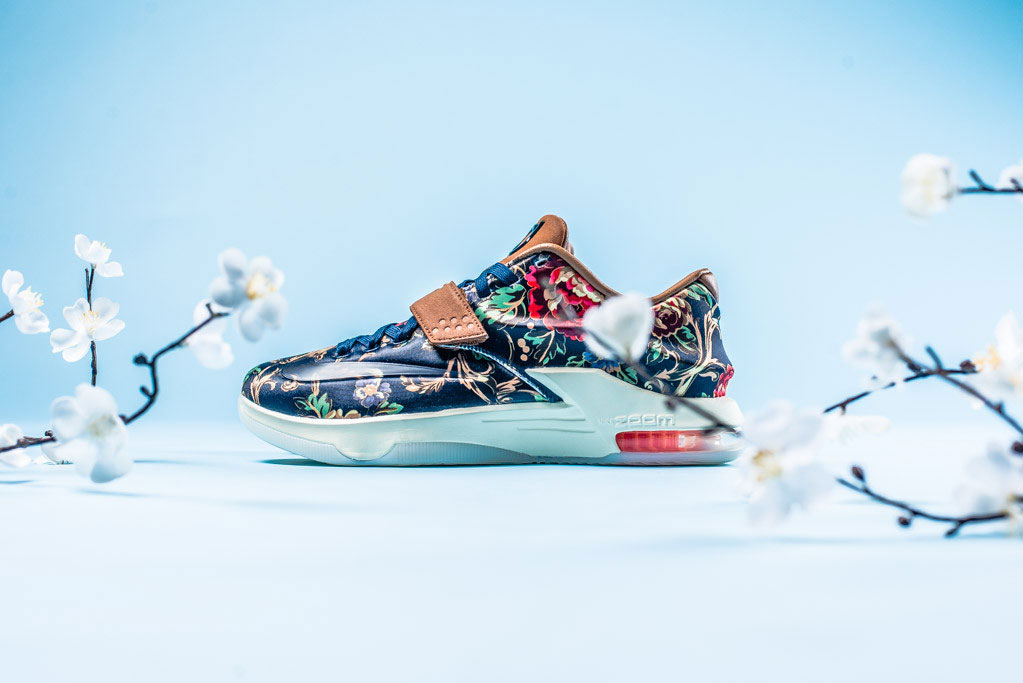 A Closer Look at the Nike KD VII EXT Floral QS